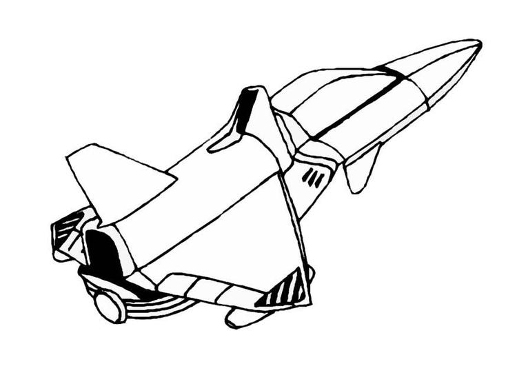 kleurplaat ruimteschip gratis kleurplaten om te printen