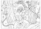 Kleurplaat Samson