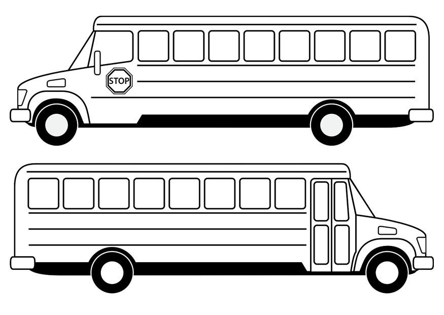 Kleurplaten Autobus.Afbeeldingen Kleurplaten Bus Kleurplaat Bus 2 Afb 14961