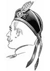 Kleurplaat schotse hoed - glengarry