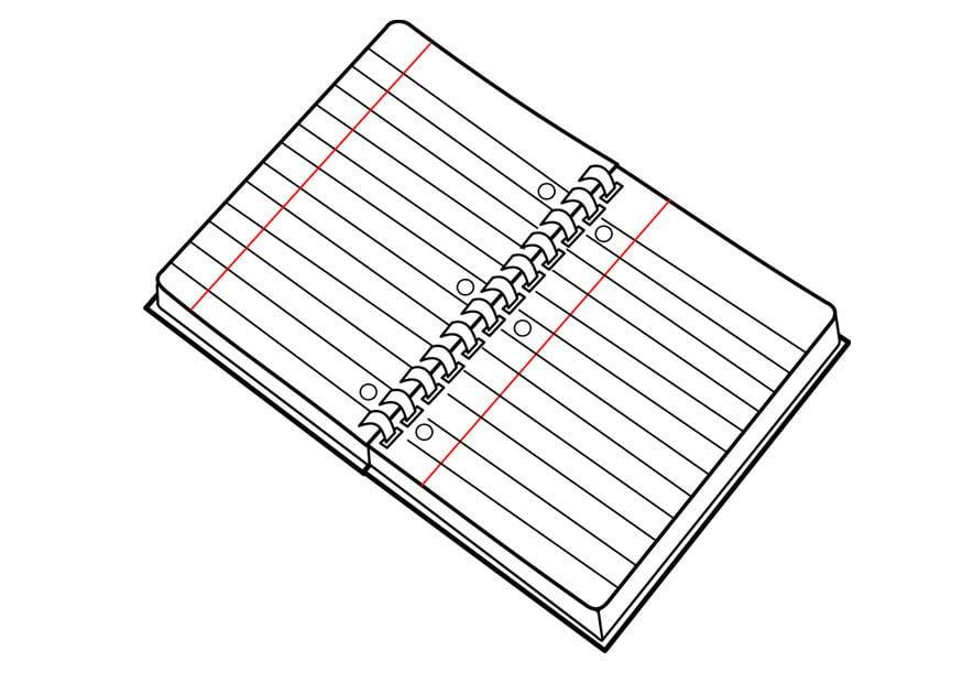 Libreta De Dibujo Con Dibujos Infant: Kleurplaat Schrift