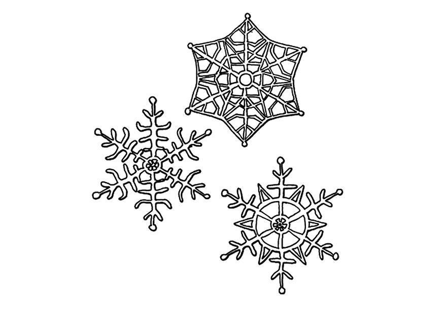 kleurplaat sneeuwkristallen gratis kleurplaten om te printen