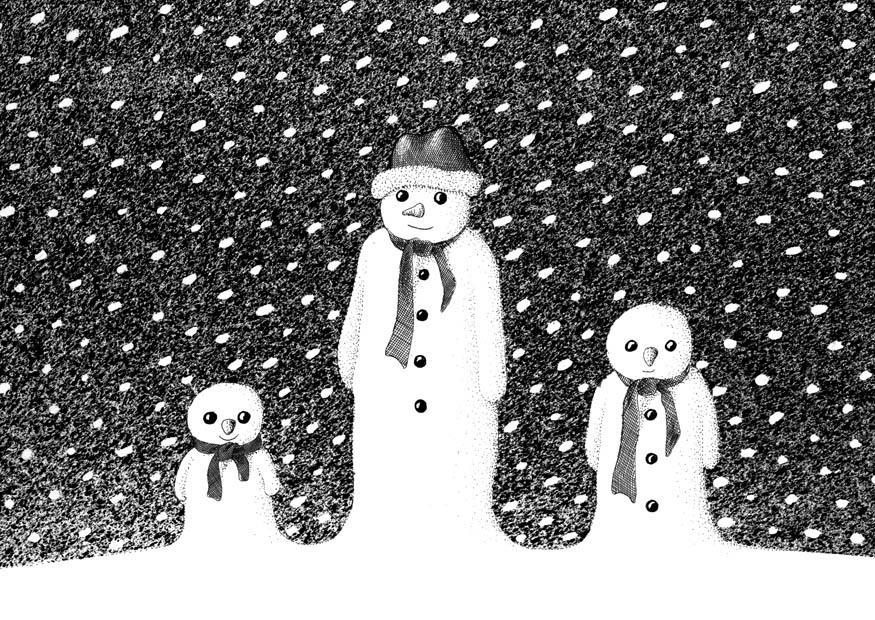 kleurplaat sneeuwmannen gratis kleurplaten om te printen