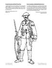Kleurplaat soldaat wereldoorlog 1