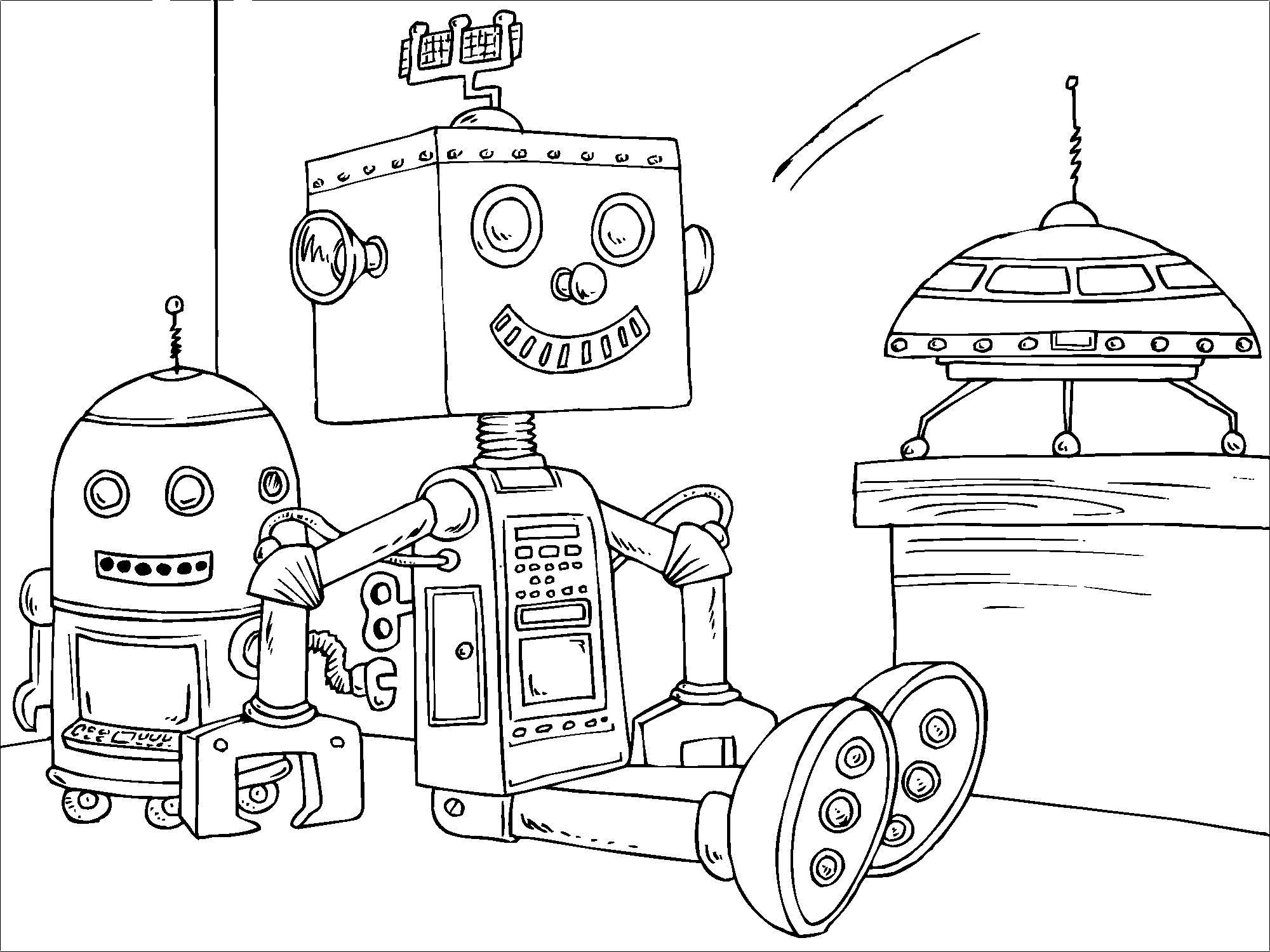 Afbeeldingen Kleurplaten Robot Kleurplaat Speelgoed Robot Gratis Kleurplaten Om Te Printen