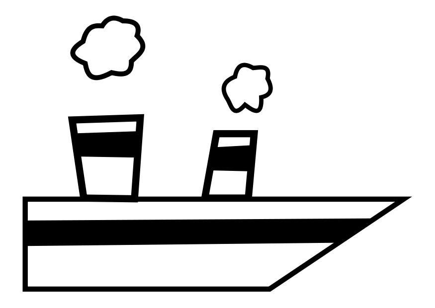 Kleine Pieten Knutselen Kleurplaat Kleurplaat Stoomboot Afb 27387