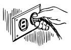 Kleurplaat stopcontact