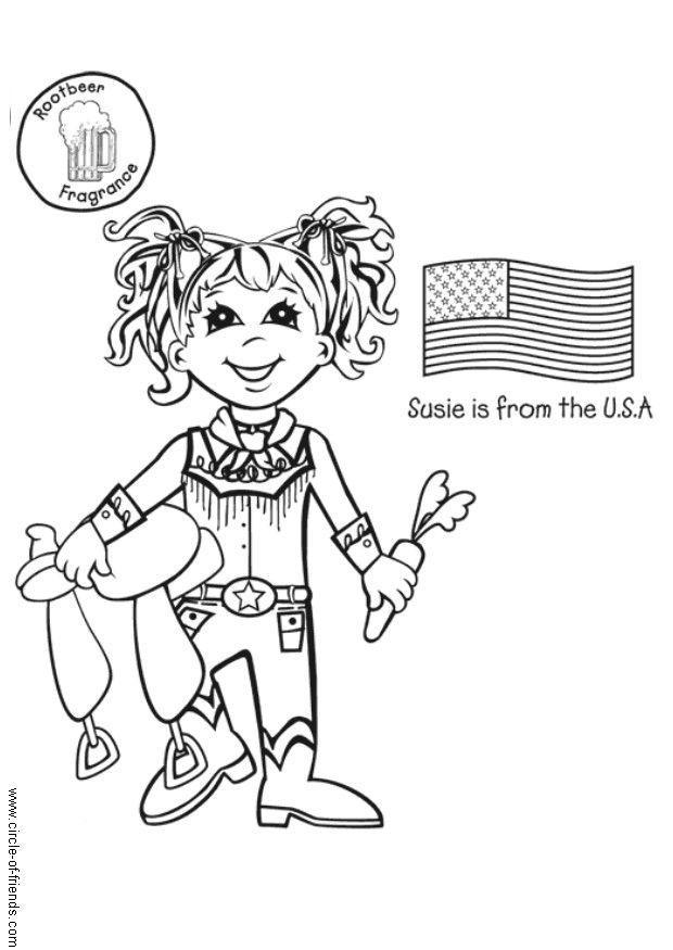 kleurplaat kinderen de wereld kinderwoorddienst een