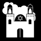 Kleurplaat synagoge