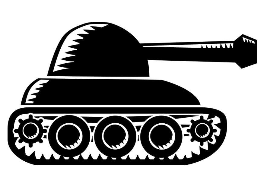 Kleurplaat Tank Afb 22517