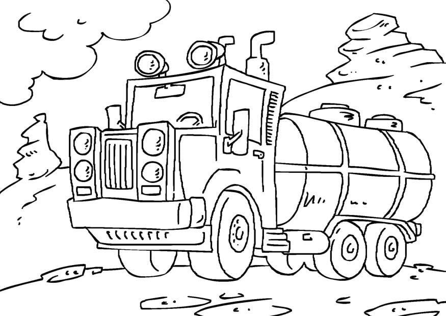 Afbeelding Paw Patrol Kleurplaat Kleurplaat Tankwagen Afb 27172