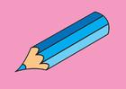Afbeelding teken- en kleurhoek