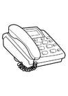 Kleurplaat telefoon