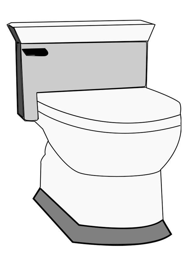 kleurplaat toilet gratis kleurplaten om te printen