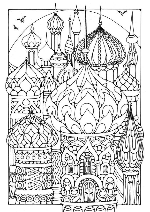 coloring pages russia - photo#6