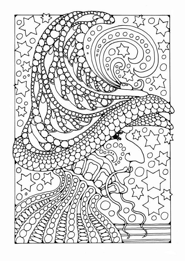 kleurplaat tovenaar afb 25646