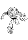 Kleurplaat Toy Story - Buzz Lightyear