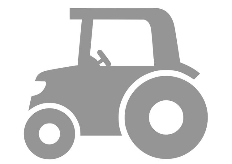 kleurplaat tractor afb 28687
