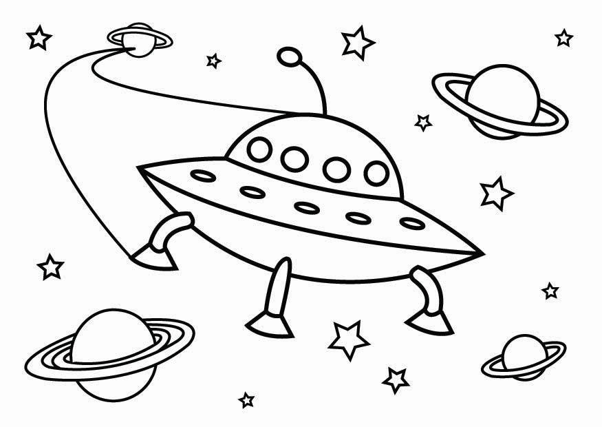 Kleurplaten Ruimtevaart.Kleurplaat Ruimtevaart Kleurplaat Raket Afb 25715 Kleurplatenl Com