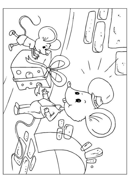 Afbeeldingen Honden Kleurplaten Kleurplaat Vaderdag Muizen Afb 25896