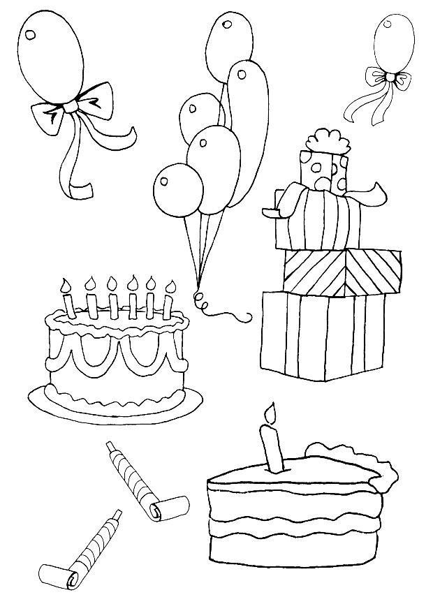Grote Kleurplaten Verjaardag.Kleurplaat Verjaardag Gratis Kleurplaten Om Te Printen