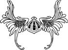 Kleurplaat viking helm