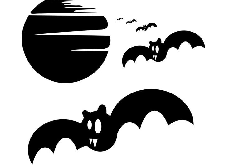 Kleurplaat Vleermuis Halloween.Kleurplaat Vleermuizen Afb 22973 Images