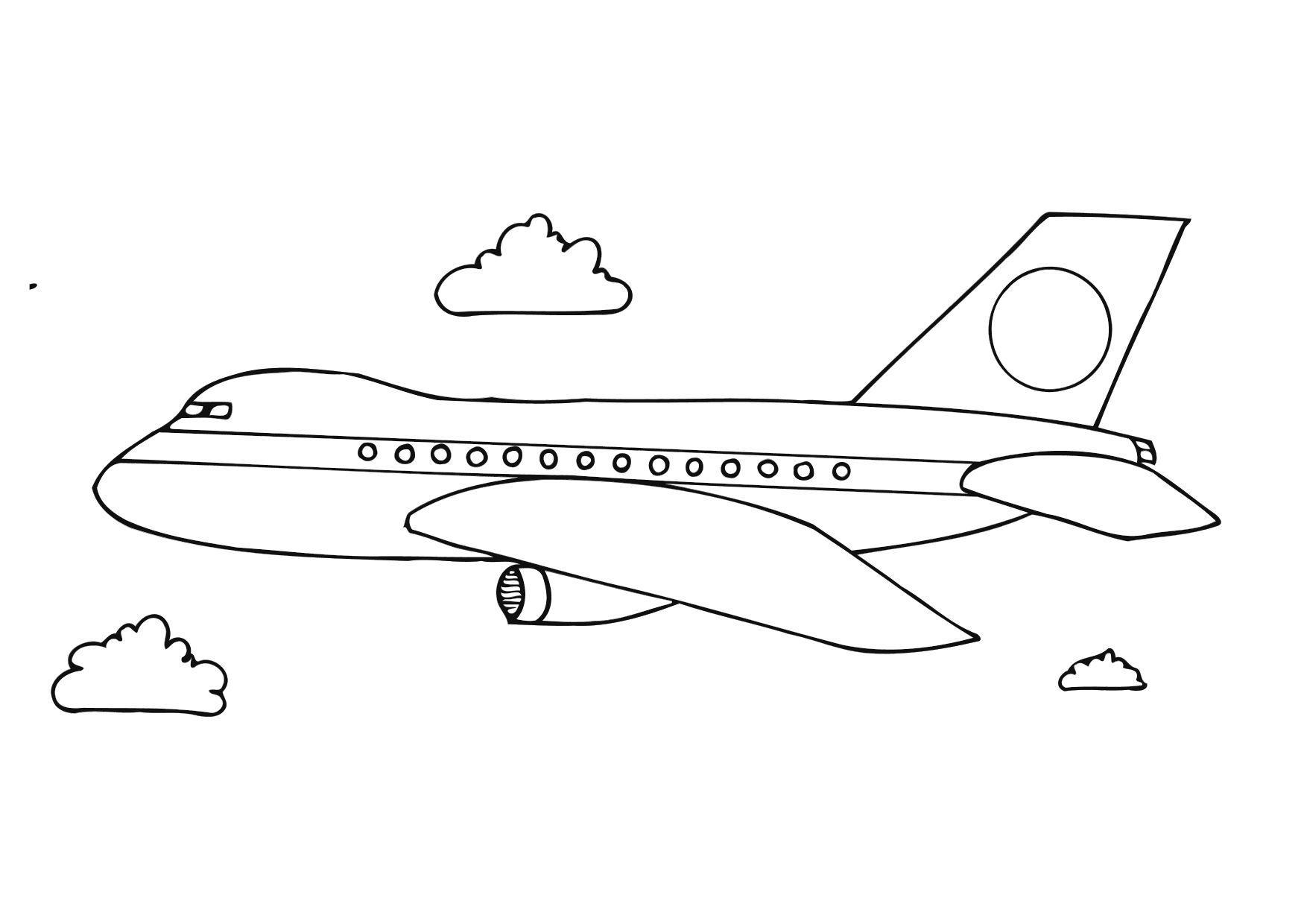 Gratis Kleurplaten Planes.Bernard Vargas Kleurplaat Vliegtuig
