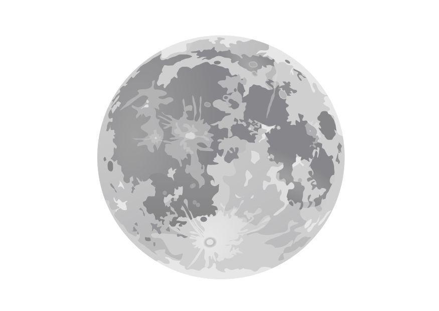 kleurplaat volle maan gratis kleurplaten om te printen