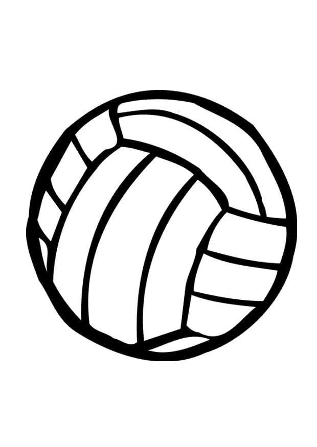 kleurplaat volleybal gratis kleurplaten om te printen