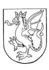 Kleurplaat wapenschild
