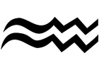 Kleurplaat waterman