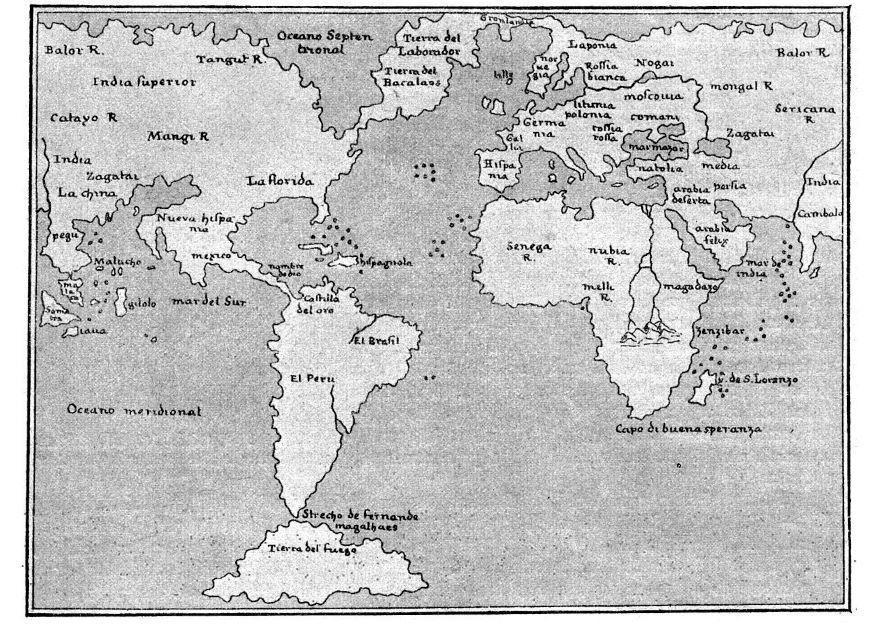 kleurplaat wereldkaart 1548 gratis kleurplaten om te printen