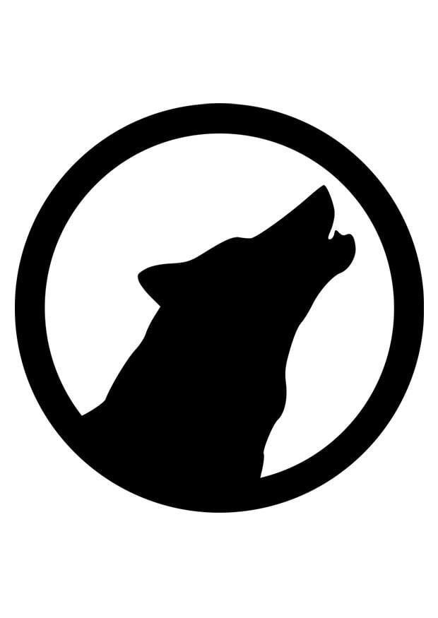 Kleurplaten Dieren In Het Wild Kleurplaat Wolf Afb 26296