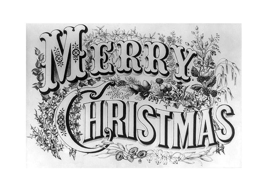 Kleurplaat Zalig Kerstfeest Afb 20499