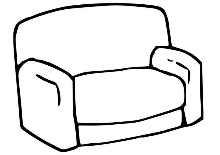 Different Furniture Vector Set 11927333 moreover Kleurplaat Zetel I22781 also Furniture Sofa Sketch also  as well Diy Mid Century Modern Bed. on free sofa bed