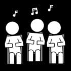 Kleurplaat zingen