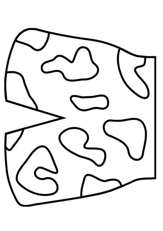 Kleurplaat Koksmuts