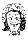 Knutselen masker Katrijn