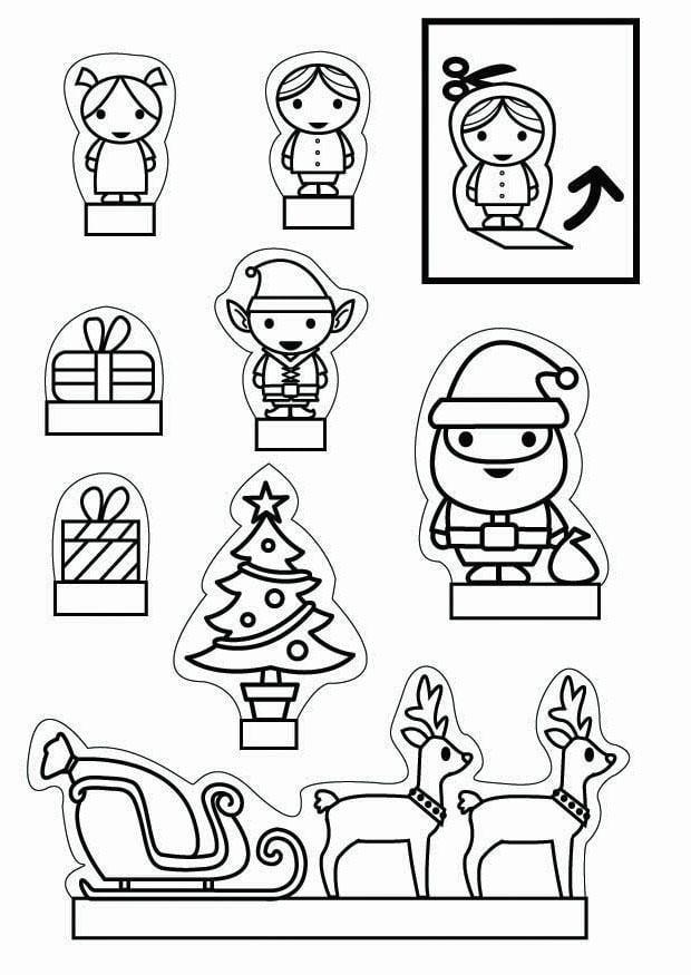 Knutselen Kijkdoos Kerst Knutselen Voor Kinderen Cat 26705