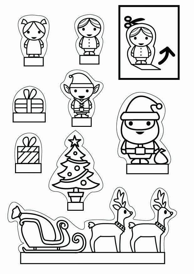 Knutselen Kijkdoos Kerst Knutselen Voor Kinderen Cat 26708