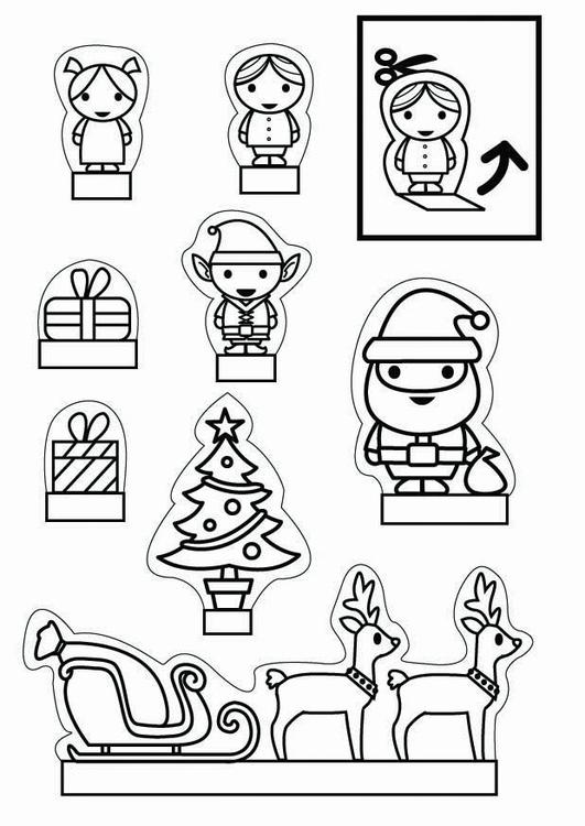 knutselen kijkdoos kerst 26708 x knutselen voor kinderen