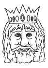 Knutselen masker koning
