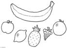 Knutselen mobiel - fruit