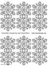 Knutselen Sneeuwvlok Ornament - Klein