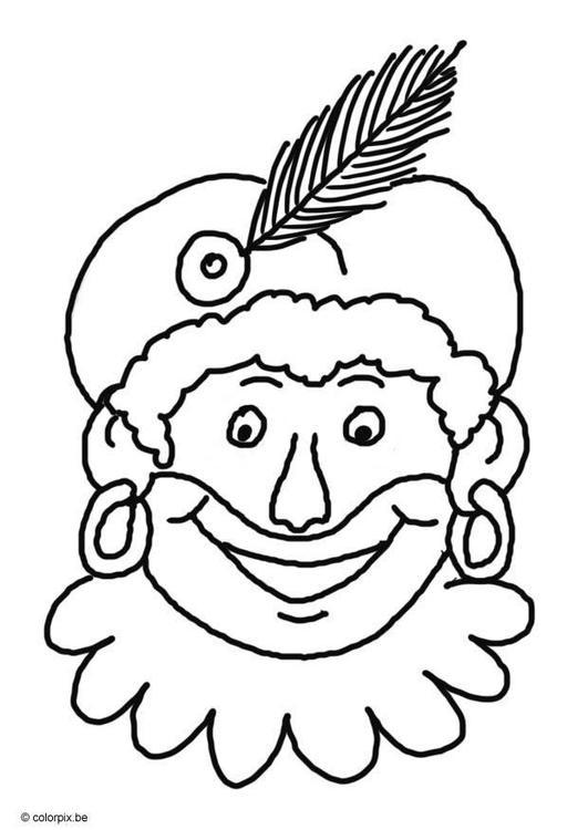 Mooie Zwartepietenhoofdjes Pagina 1 Taartdecoratie